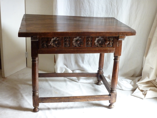 18th Century Walnut Rustic Table