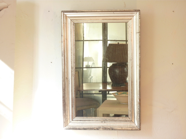 Silvered Wide Molding Mirror