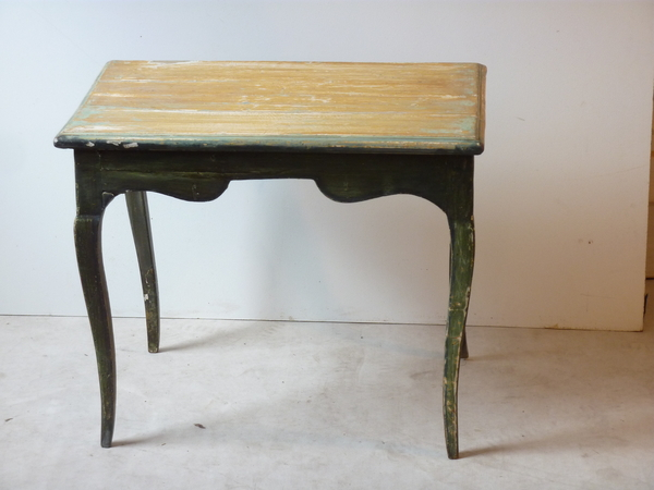 French 18th Century Low Painted Table