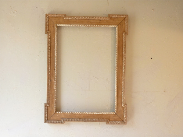 Two Neoclassical Pine Mirrors