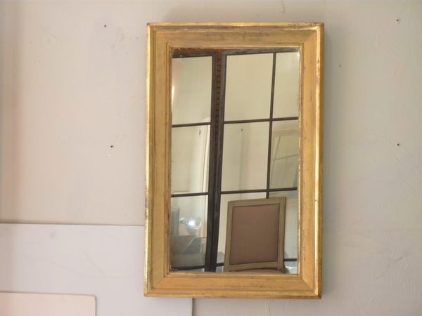 American 19th Century Giltwood Mirror